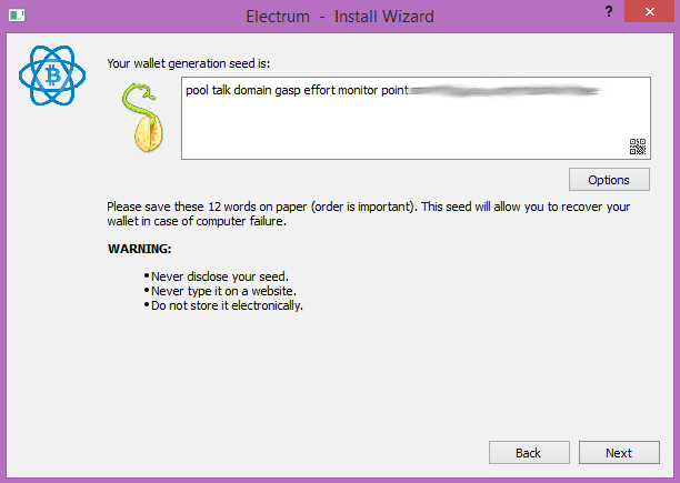 sicheres bitcoin wallet