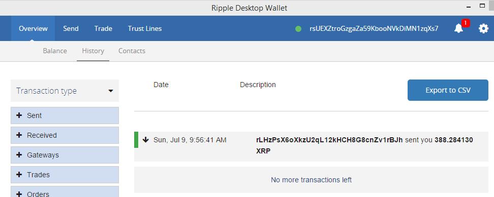 how to find kraken wallet address
