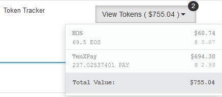 Tenx pay wallet