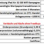 Kostenloses iPad bei onvista erhalten für die Depoteröffnung